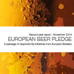 Second year report shows Europe's brewers fulfilling their pledge to tackle alcohol misuse