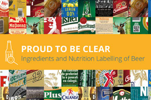 Proud To Be Clear: Ingredients and Nutrition Labelling of Beer
