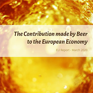 The Contribution made by Beer to the European Economy - March 2020