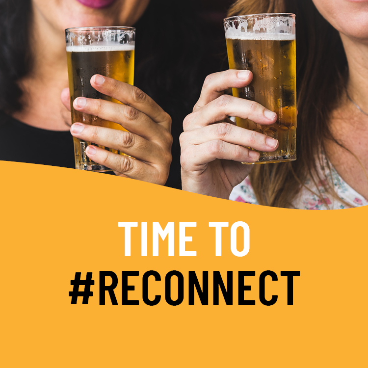 Brewers invite us to #RECONNECT