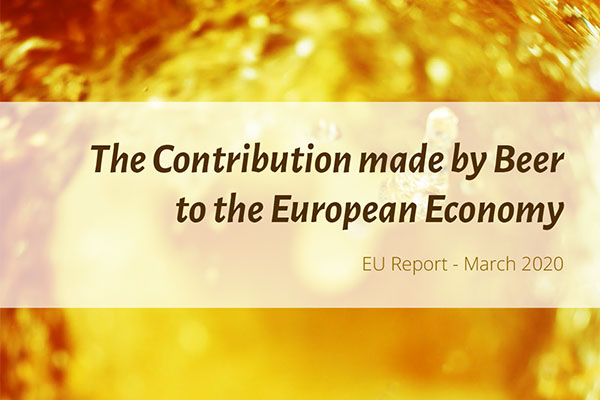 The Contribution made by Beer to the European Economy - EU Report March 2020